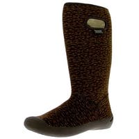 Bogs Outdoor Boots Womens Summit Buffalo Knit Waterproof Lined