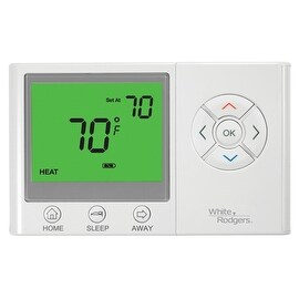 White Rodgers UNP300 Non-Programmable Thermostat with Home / Sleep / Away Presets