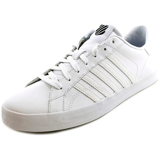 K-Swiss Belmont T Low Round Toe Leather Tennis Shoe