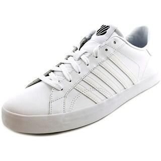 K-Swiss Belmont T Low Round Toe Leather Tennis Shoe