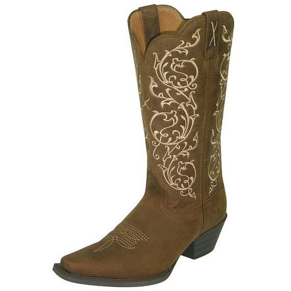 Twisted X Western Boots Womens Light Weight Saddle