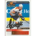 Ivan Novoseltsev Florida Panthers 2000 Upper Deck MVP Stanley Cup Edition Autographed Card This it