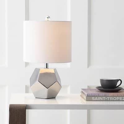 "SAFAVIEH Lighting 18-inch Hanton LED Table Lamp - 10""x10""x17.5"""