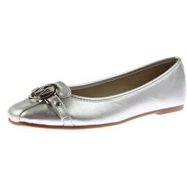 Wanted Womens Michelle Embellished Slip On Ballet Flats - 8.5 medium (b,m)