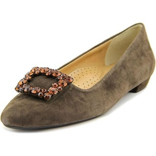 Vaneli Galina Women N/S Pointed Toe Suede Flats