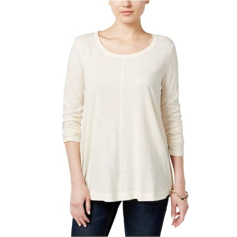 Style&Co. Womens Seamed Basic T-Shirt