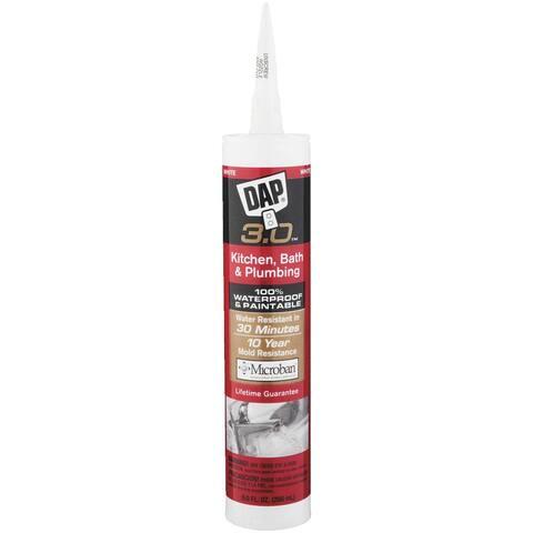 DAP White Fd Kit/Bath Caulk