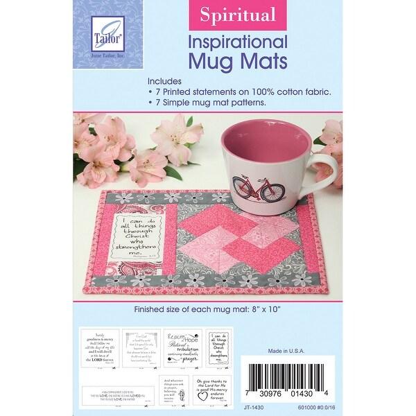 """Inspirational Mug Mats-Spiritual 8""""X10"""""""