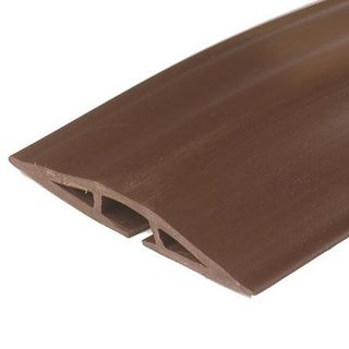 Wiremold/Legrand Cdb15 Corduct 15' Overfloor Cord Protector, Brown