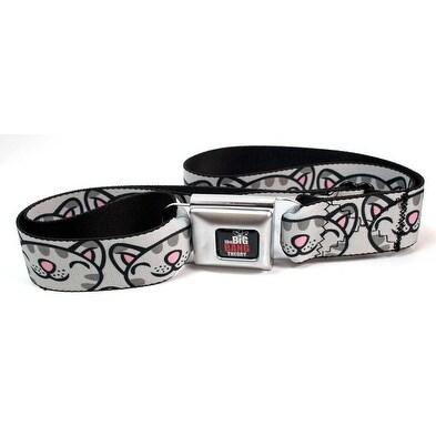 Big Bang Theory Seatbelt Belt - Soft Kitty-Holds Pants Up