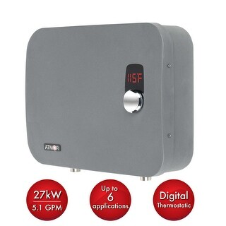 Atmor AT-910-27TP ThermoPro 27 Kilowatts 240 Volts 4 GPM Electric Whole House Ta - n/a - N/A