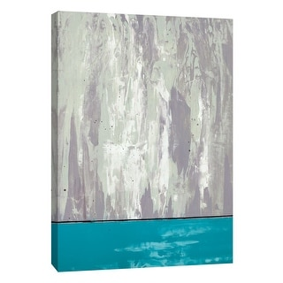 "PTM Images 9-105296  PTM Canvas Collection 10"" x 8"" - ""Squeegeescape 4"" Giclee Abstract Art Print on Canvas"