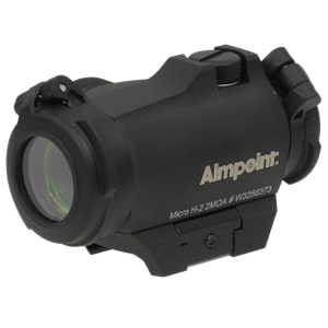 Aimpoint Micro H-2 w/2 MOA Mount
