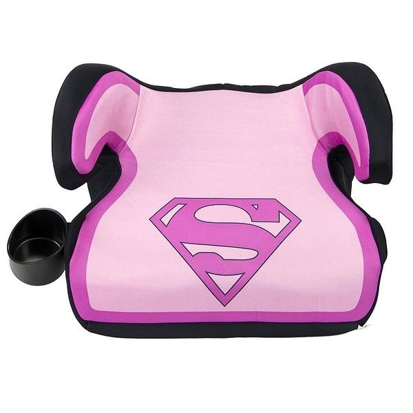 DC Comics KidsEmbrace Supergirl Belt Positioning Backless Booster Car Seat