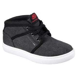 Skechers 93716L BLK Boy's INTEGRO - KINSON Sneaker
