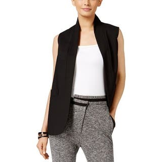 Anne Klein Womens Vest Open Front Pockets - 10|https://ak1.ostkcdn.com/images/products/is/images/direct/bd16775201d358384a90342b342f48f081d51517/Anne-Klein-Womens-Vest-Open-Front-Pockets.jpg?impolicy=medium