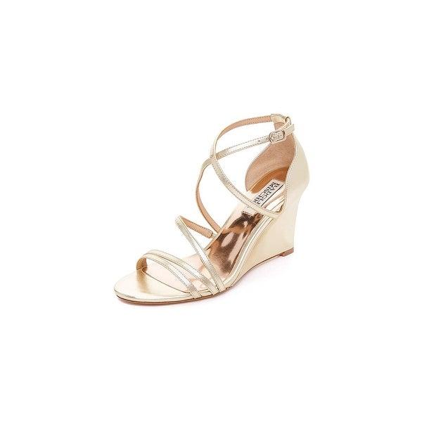 Badgley Mischka Women's Bonanza Wedge Sandal