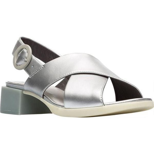 943da610c Shop Camper Women s Kobo Slingback Sandal Silver Leather - Free ...