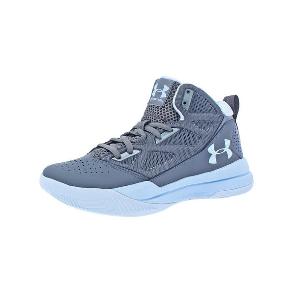 0167c1dd099 Shop Under Armour Womens Jet Mid Basketball Shoes Mid-Top Breathable ...