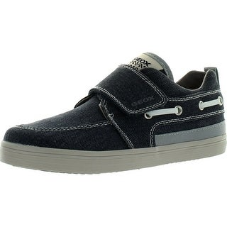 Geox Boys Kiwi Bg Fashion Canvas Casual Shoes