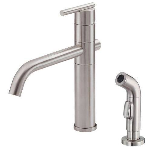 Etonnant Danze D405558 Kitchen Faucet   Includes Metal Side Spray From The Parma  Collection