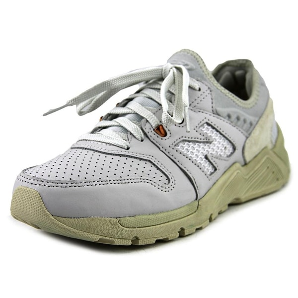 New Balance ML009 Men Round Toe Synthetic White Sneakers