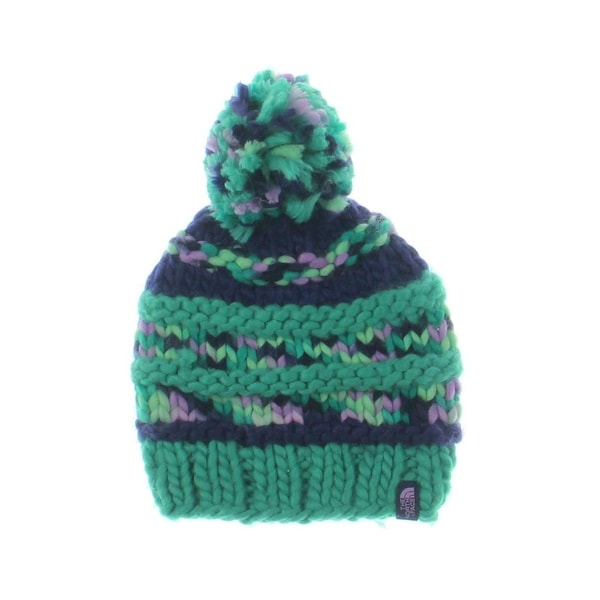 Shop The North Face Womens Nanny Knit Winter Hat Knit Pom Pom - o s - Free  Shipping On Orders Over  45 - Overstock - 21491480 2abb835514c