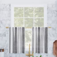 Buy Transitional Curtain Tiers Online At Overstock Our Best Window Treatments Deals