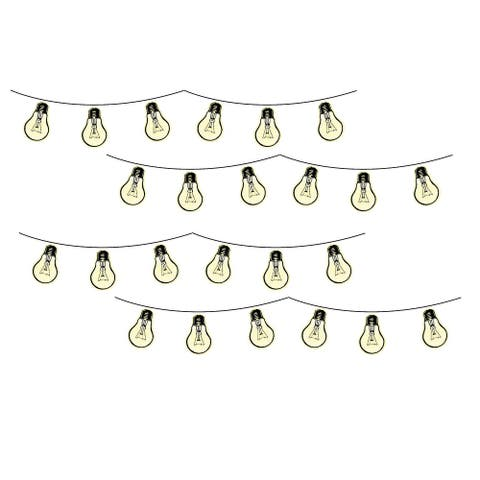 Brewster WPK3016 WallPops Bright Ideas Wall Decorating Kit - 32 Pieces - Yellow