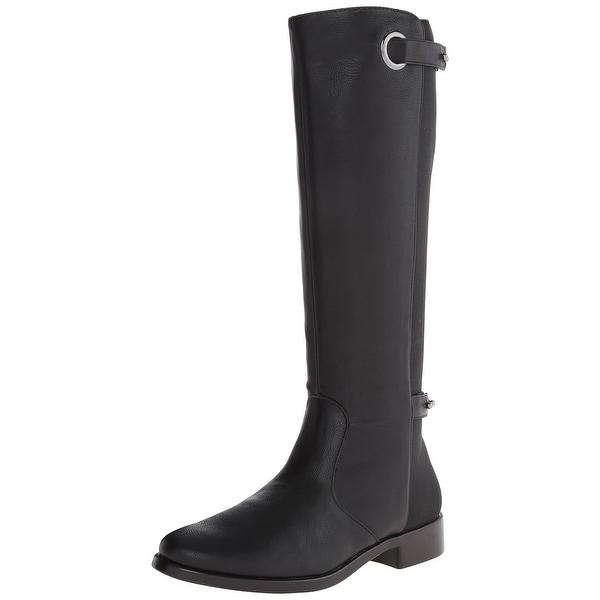 Aerosoles NEW Black Women Shoes Size 7.5M One Wish Knee-High Boot