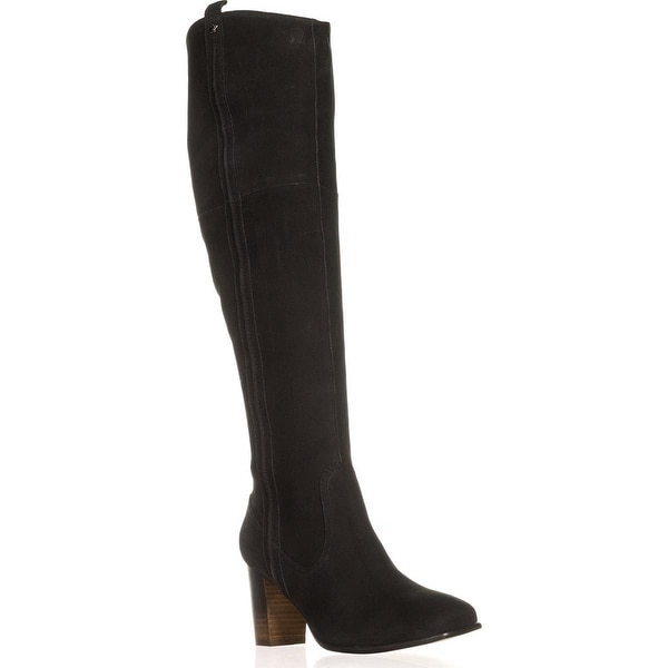 Nina Ventura Over-the-Knee Boots, Black - 7 us