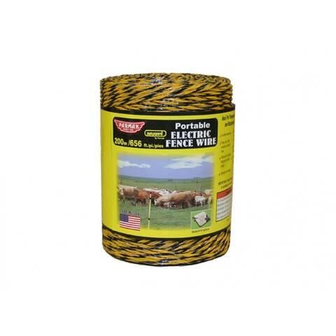 BaygardA 121 Heavy Duty Wire, 656', Yellow & Black