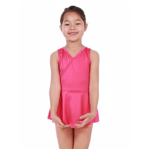 Veva by Very Vary Little Girls Sweet Pink Mari Simple Dance Dress