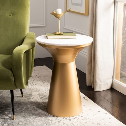 "Safavieh Mila Pedestal End Table - 16"" x 16"" x 22"""