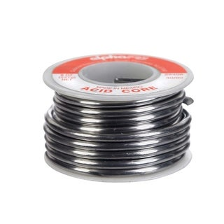 Alpha 22406 Non Electrical Acid Core Solder, 1/2 lb