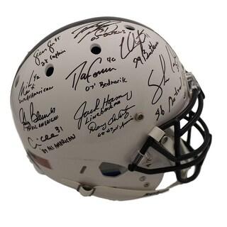 Penn State Nittany Lions Linebacker U Autographed Proline Helmet 10 Sigs JSA