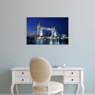 Easy Art Prints Sergio Pitamitz's 'Tower Bridge' Premium Canvas Art