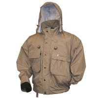 Frogg Toggs 1002733 Hellbender Fly Wading Jacket Stone - Large
