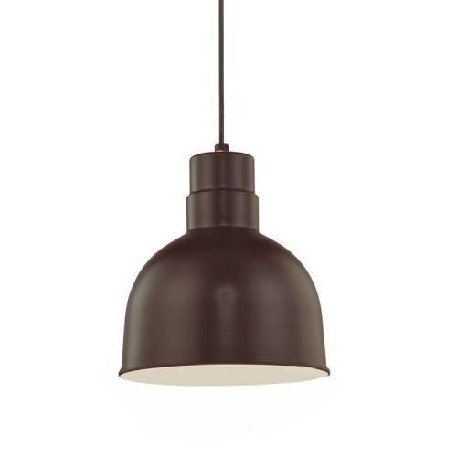 "Millennium Lighting RDBC10 R Series 1 Light 10"" Wide Bowl Pendant"