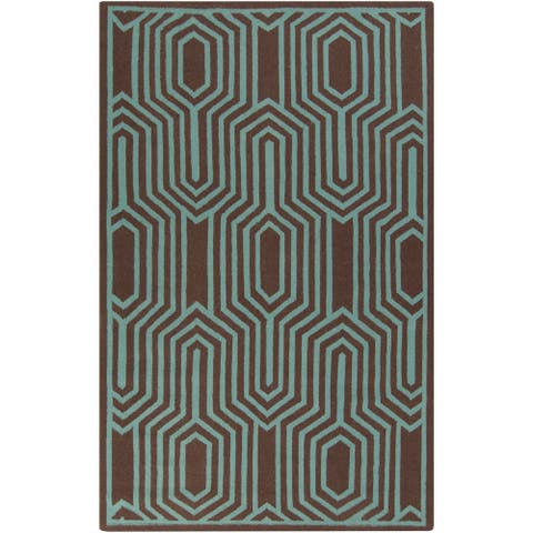 Montreuil Flatweave Abstract Area Rug