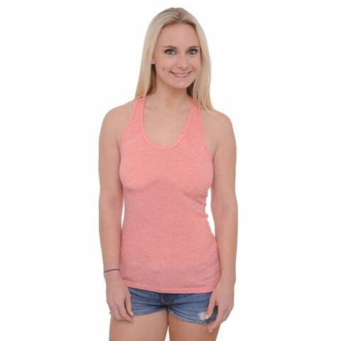 Women's Basic Tank Top Sexy Scoop Neck Athletic Wear Gym Workout Sleeveless Shirt