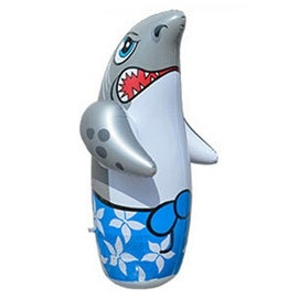 Inflatable Toy 90cm Large Tumbler Thick Cartoon shark