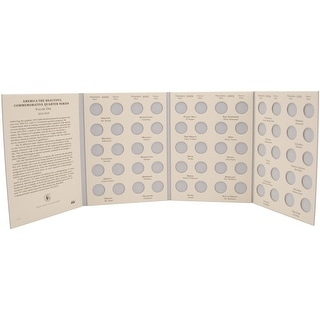America The Beautiful Commemorative Quarter Folder-2010-2015