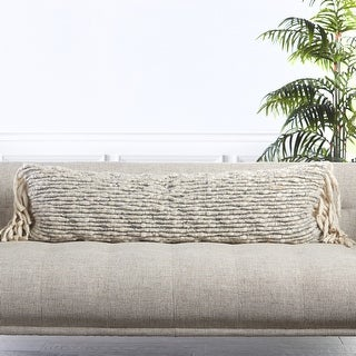 Link to Clea Textured Lumbar Pillow Similar Items in Decorative Accessories
