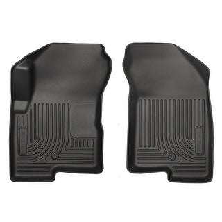 Husky Weatherbeater 2007-2016 Jeep Compass/Patriot Black Front Floor Mats/Liners