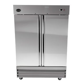 Link to SABA S-47R - Two Door Commercial Reach-In Stainless Steel Cooler Similar Items in Large Appliances