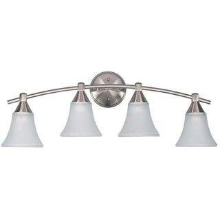 "Canarm IVL221A04 Grace 4 Light 27"" Wide Bathroom Vanity Light"