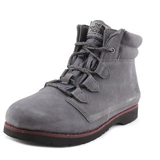 The North Face Ballard Roll-Down Women Round Toe Leather Gray Hiking Boot