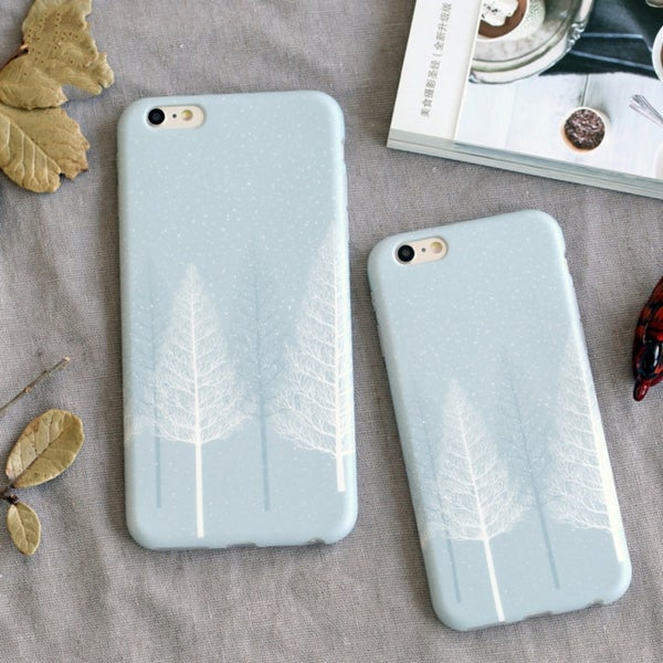 iphone 7 case leaf print