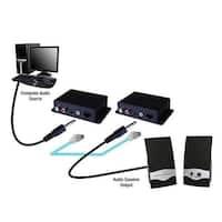 Vanco 280535 Analog Audio over Cat5e/Cat6 Cable Extender Balun Kit